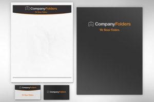 A customised folder
